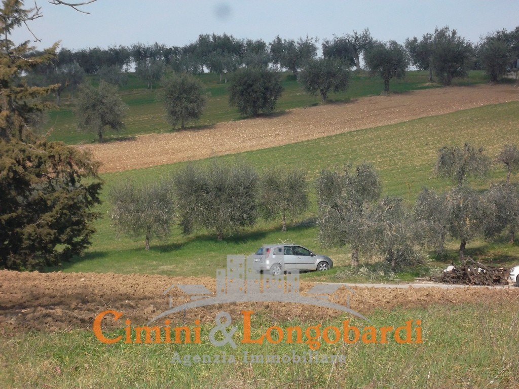 Casa singola con ampio terreno agricolo perimetrale a - Casa abusiva su terreno agricolo ...