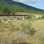 Civitella del Tronto splendido terreno panoramico con capannone