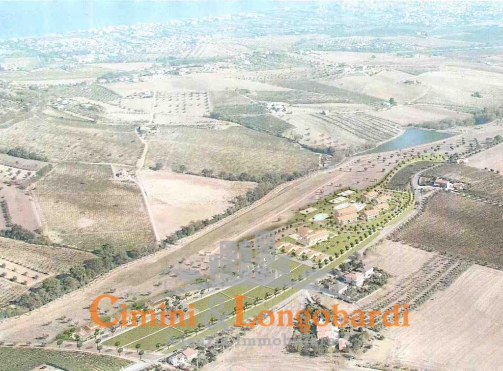 Colonnella vendesi terreni edificabili panoramici con progetto