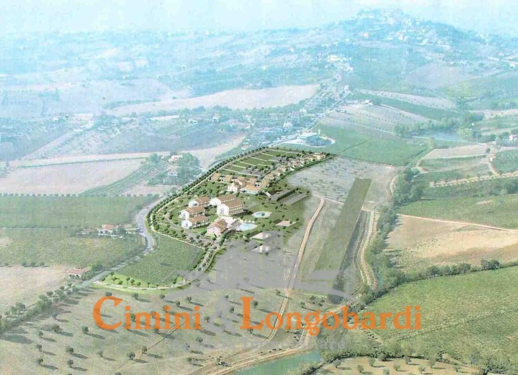 Colonnella vendesi terreni edificabili panoramici con progetto - Immagine 2