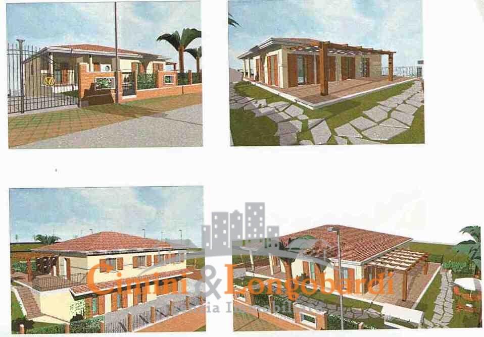Colonnella vendesi terreni edificabili panoramici con progetto - Immagine 8