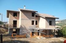 Casa in fase di costruzione