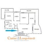 Appartamento di recente costruzione.. Zona centrale