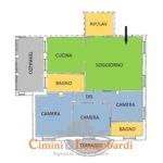 Appartamento con box zona centrale