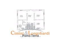 Casa indipendente su 2 livelli con terreno di mq 1.200 - Immagine 4