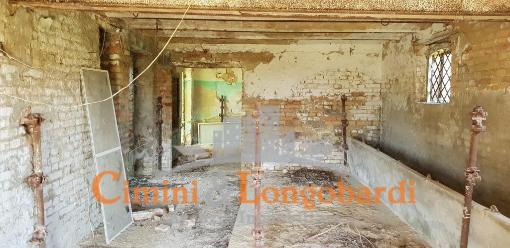 Casa con rimessaggio e terreno - Immagine 2