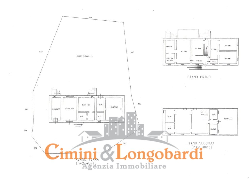 Villa con piscina e terreno - Immagine 10